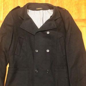 Barney's New York - Men's Wool Peacoat - Sz 54